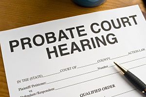 Lake Tahoe Probate Hearing